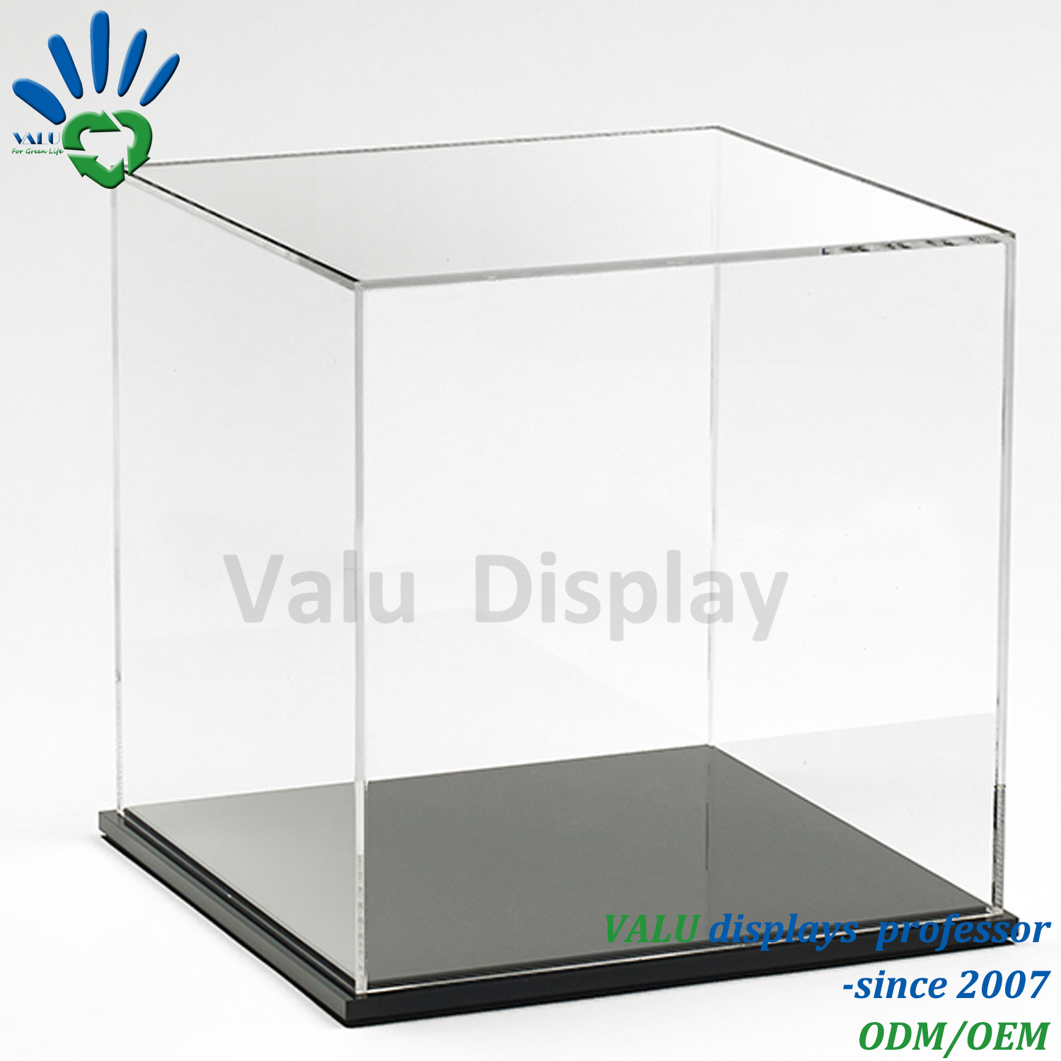 stand display step acrylic large pin countertop product counter perspex retail