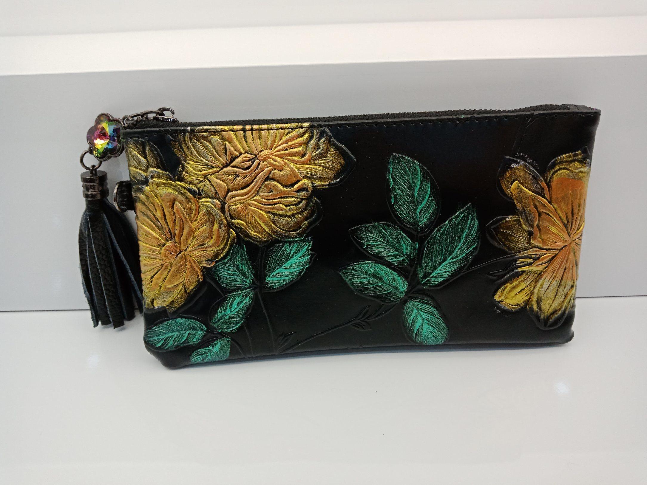 China Genuine Leather Lady Clutch Women Bag Crossbody Promotional Bags Gold Ladies Handbag Wdl0419 Shoulder