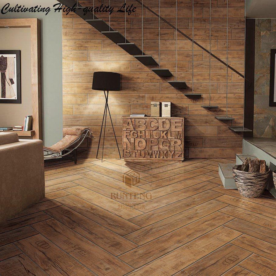 China Modern Design Wood Ceramic Glazed Floor Tile   China Ceramic ...