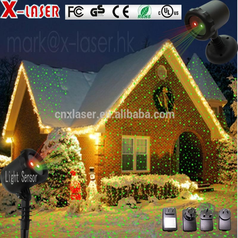 China Sz Factory 2016 New Outdoor Star Night Christmas Laser Light