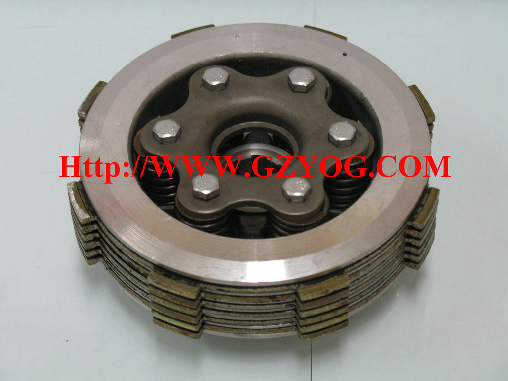 Yog Engine Motorcycle Spare Parts for Honda Cg150 200 250 Ft150 Gt Akt150 Tricycle Cargo Cylinder Piston Kit Starting Clutch Cent Comp Clutch pictures & photos