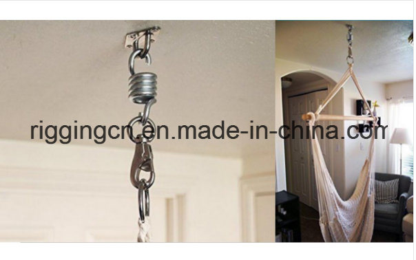 Stainless Hammock Chair Spring Swivel Hook Ceiling Mount Ultimate Hanging