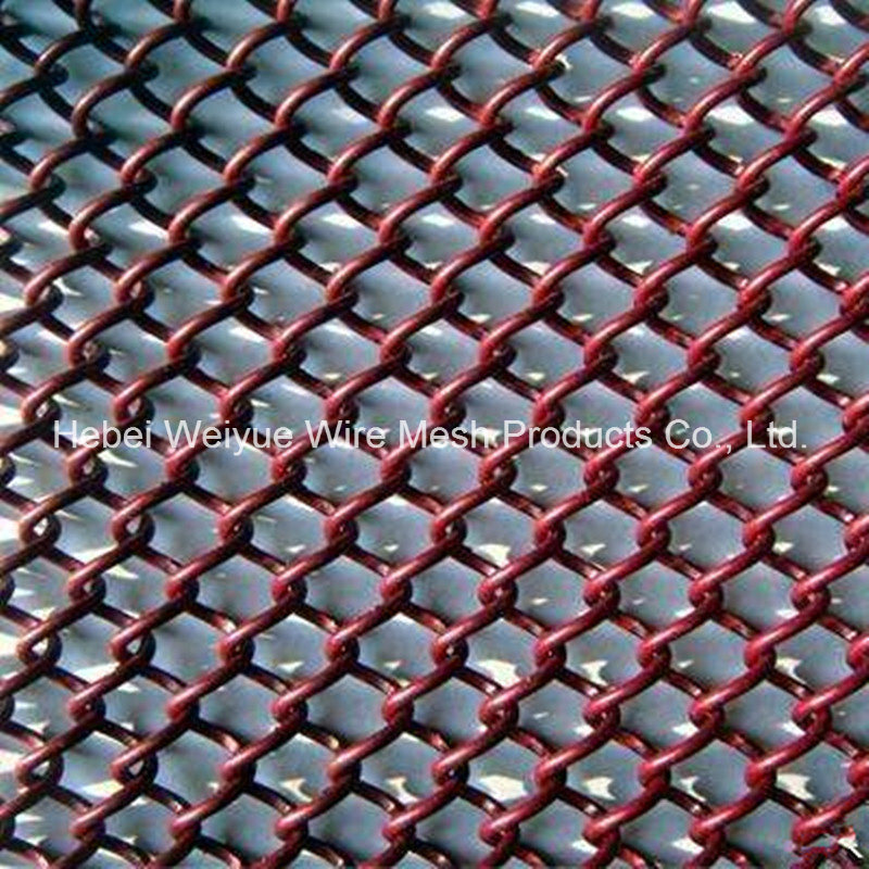 Hot Item Pvc Coated Galvanized Mini Mesh Chain Link Fence For Decoration