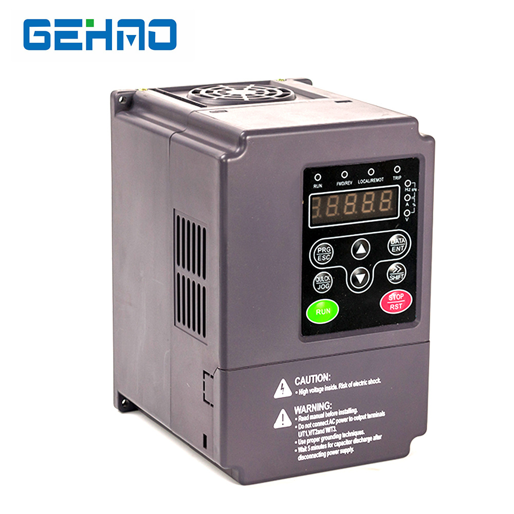 China Gehao Vector General Type 2 2kw 220v 3hp Best Inverter China Frequency Inverter Ac Diver