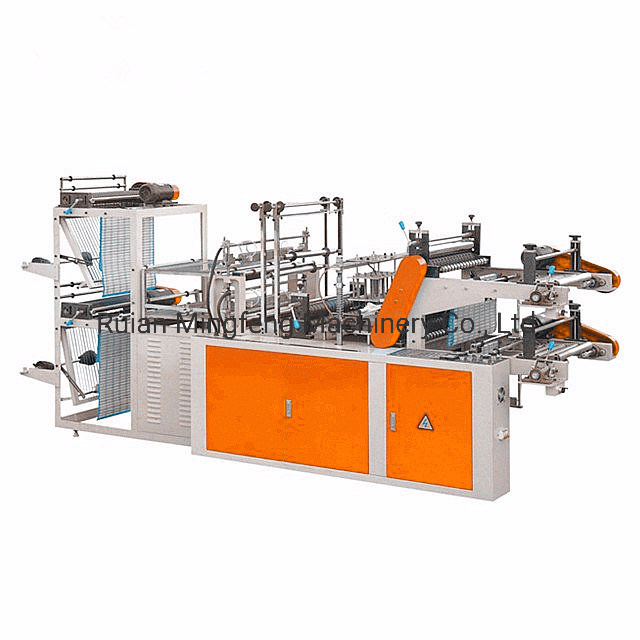 China Manufacturer Automatic High Speed 2 Lines Biodegradable T ...