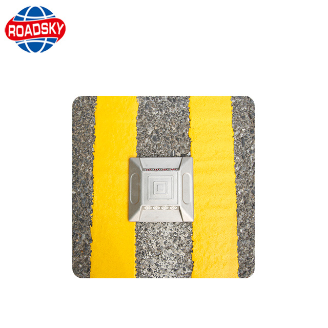 China White Yellow Hot Melt Traffic Reflective Thermoplastic