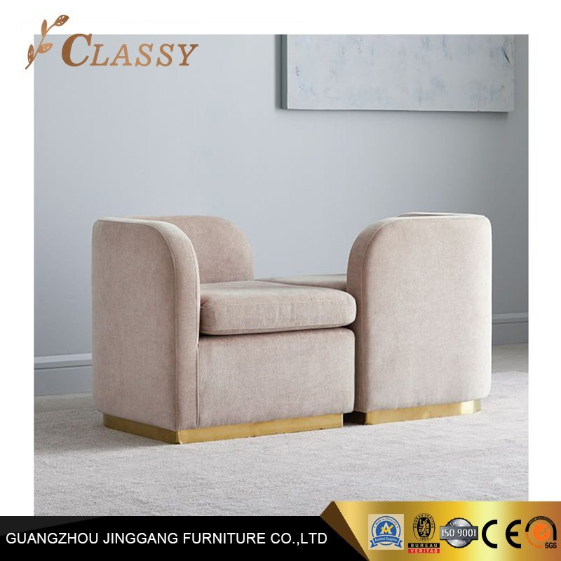Pleasant China Luxury Armchair Gold Steel Metal Velvet Upholstered Alphanode Cool Chair Designs And Ideas Alphanodeonline