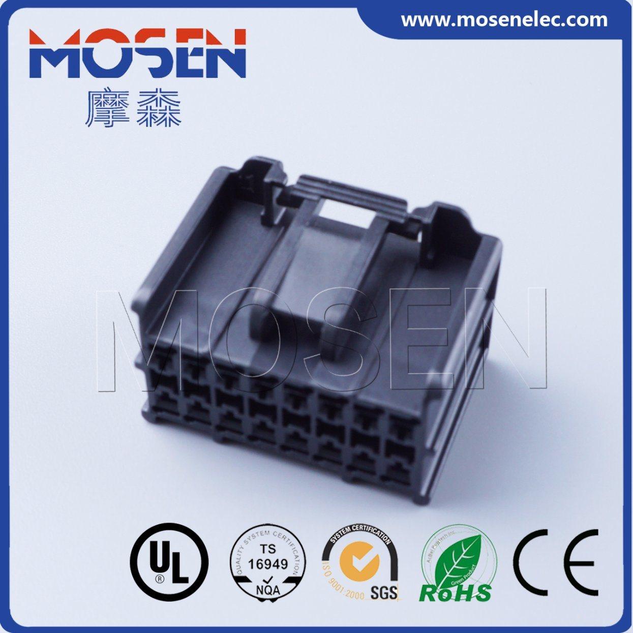 China Delphi 16pins Automotive Plastic Nylon Wire Harness Connector Auto Housing 13520384