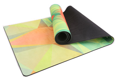 Non Slip Yoga Mat Combo Mat 2 in 1 Best for Hot Yoga / Bikram Pilates Yoga pictures & photos
