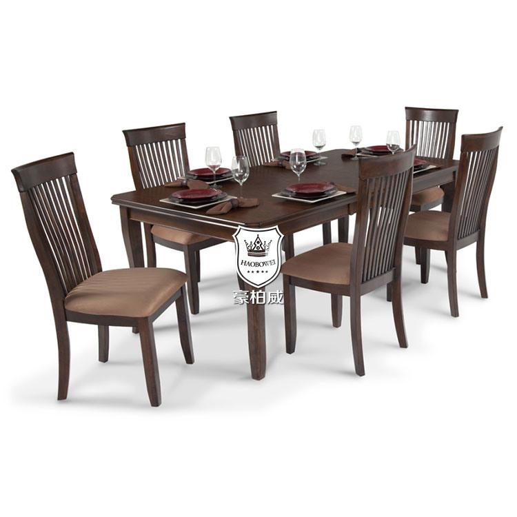 China Teak Wood Dining Table Set For, Teak Wood Dining Room Table