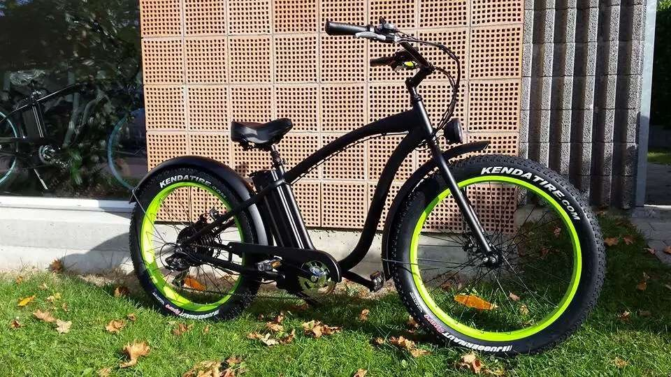2016 Powerful Cool Fat Cruiser Electric Bike En15194 Approved 48V 500W/750W/1000W pictures & photos