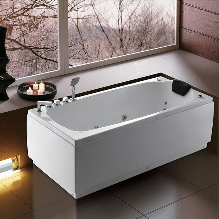 China Hot Sales Massage Bathtub with Removable Panel Photos ...