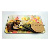 Square Full Color Cork Placemat and Coaster