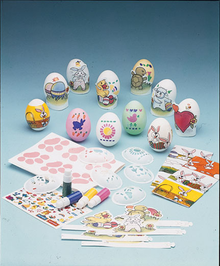 Easter Eggs Decoration Kit By Cocoapod: China Easter Egg Decorating Kit(113A)
