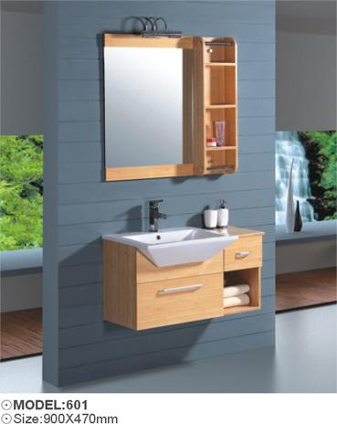 China Bamboo Bathroom Cabinet / Bathroom Vanity (601 ...