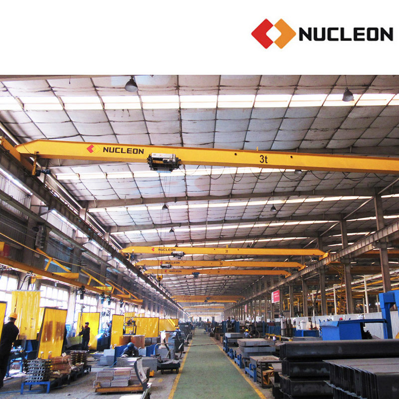 Nucleon European Standard Single Girder Overhead Crane 7.5 Ton