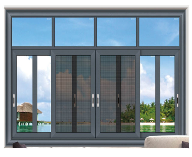 Big Aluminum Window Design Sliding Window For House Building China Sliding Windows Windows Made In China Com