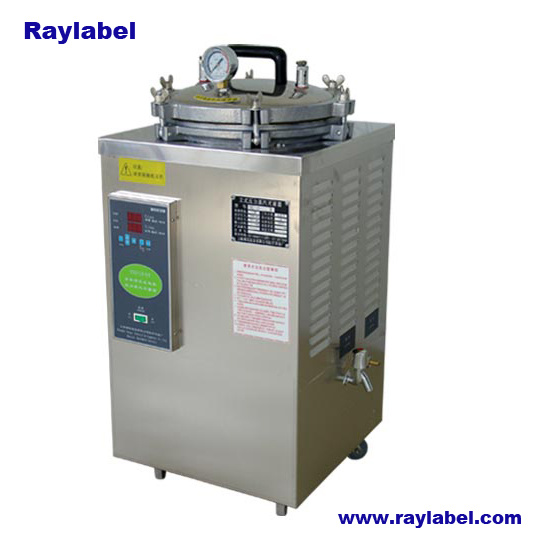 Vertical Pressure Steam Sterilizer, Vertical Sterilizer for Lab Equipments (RAY-LS-50SII)