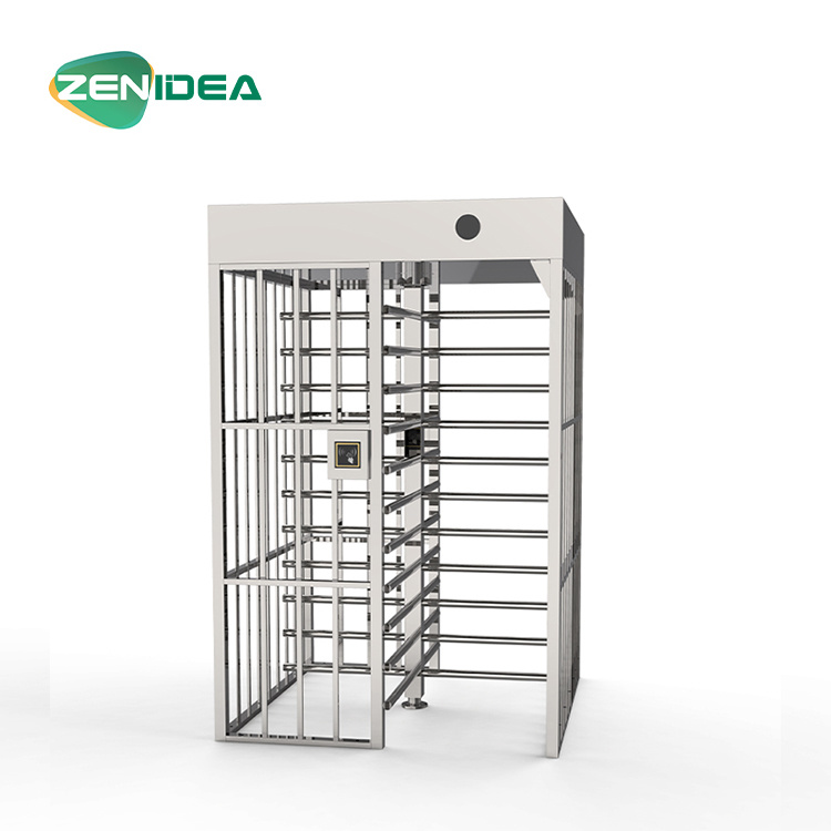 High Security Strict Management Full Height Turnstile Gate Access Control System