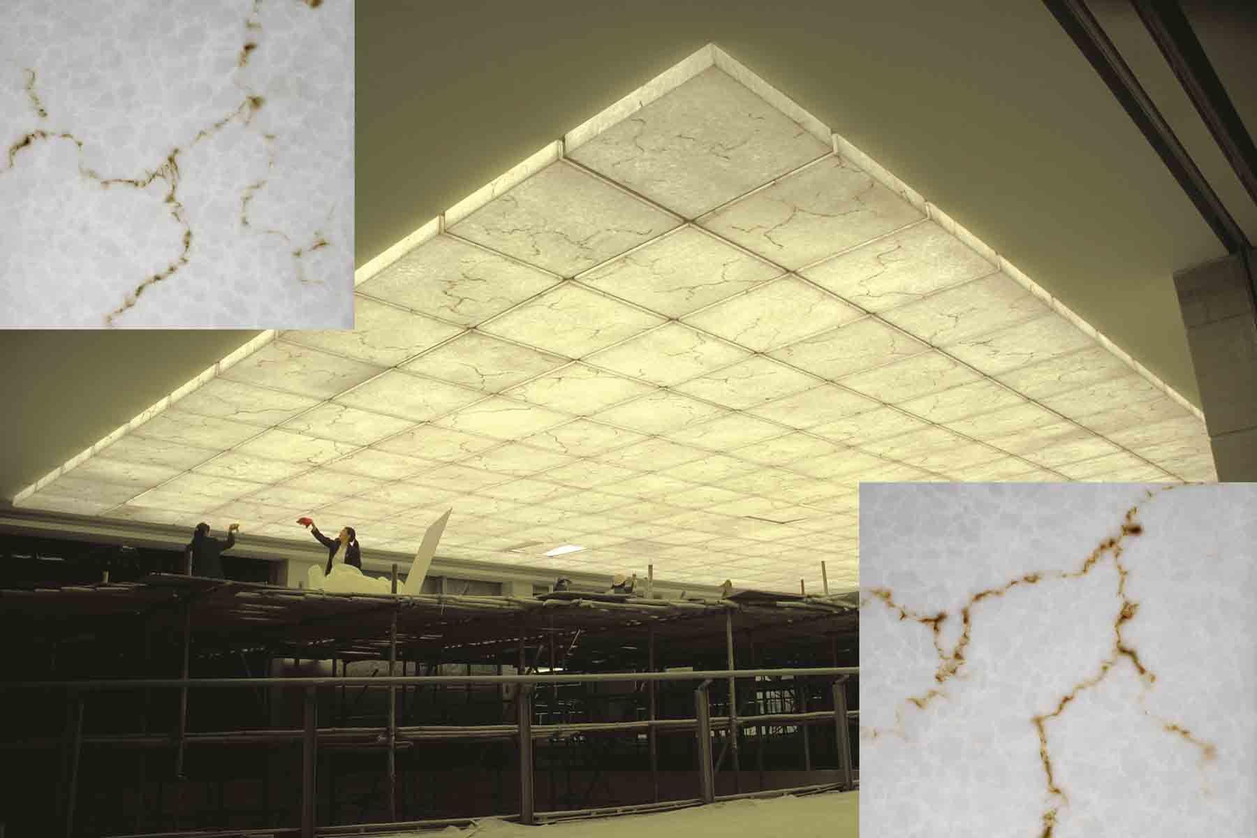 China Polyester Acrylic Decoration Panel - China Resin Panel ...