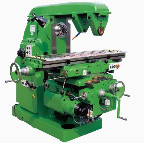 Horizontal Milling Machine >> Hot Item Universal Milling Machine With Swivel Worktable Horizontal Milling Machine X6132