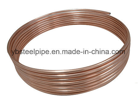 China Copper Coated Steel Tube and Steel Pipe - China Refrigeration ...