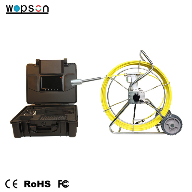 Pipe Sewer Drain Inspection Camera System with 512Hz Pipe Locator