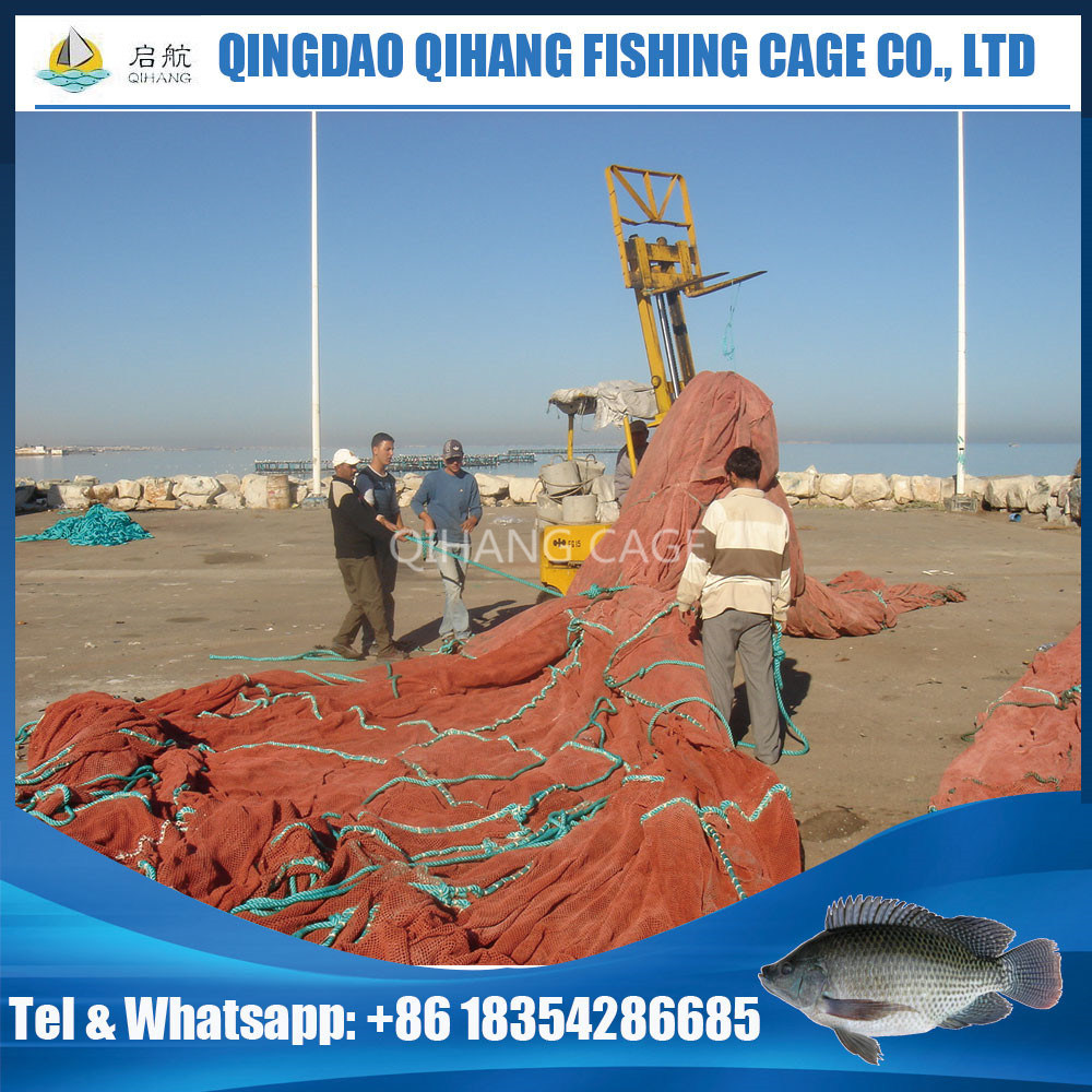 China HDPE Fish Farm Cage for Intensive Farming in The Sea or Lake