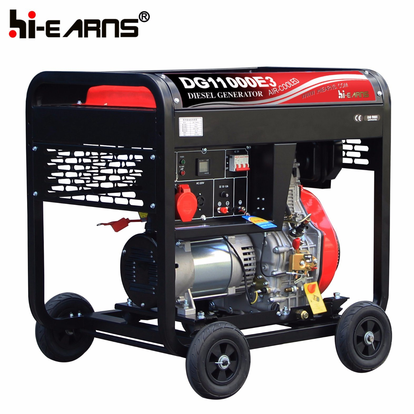 China 8kw Home Use Open Type electric Start Diesel Generator
