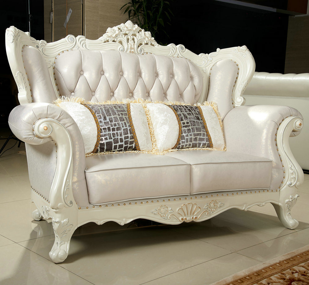 China Cream Color Royal Sofa for Living Room Furniture (159) Photos ...