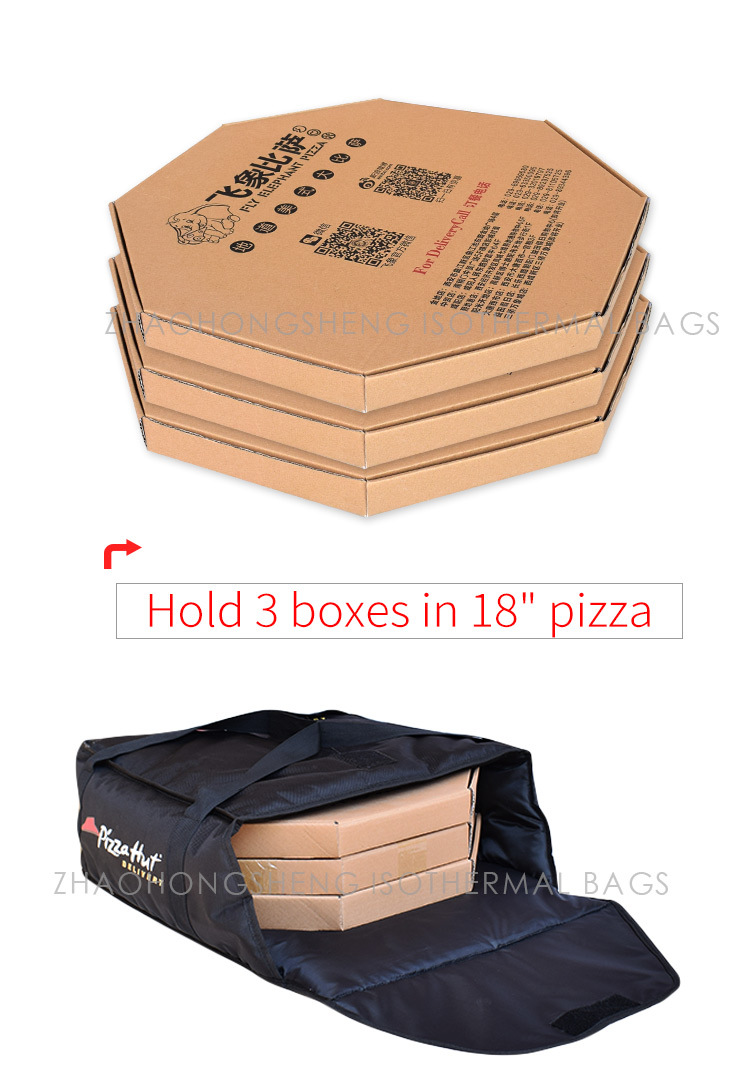 China 18 19 Commercial Best Insulated Lunch Pizza Food Delivery Thermal Cooler Bags