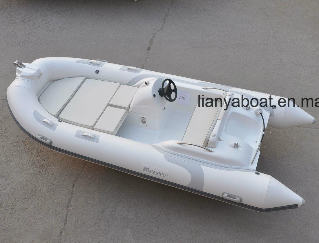 China Liya 4 3m Pvc Inflatable Boat Hard Bottom Dinghy For Sale