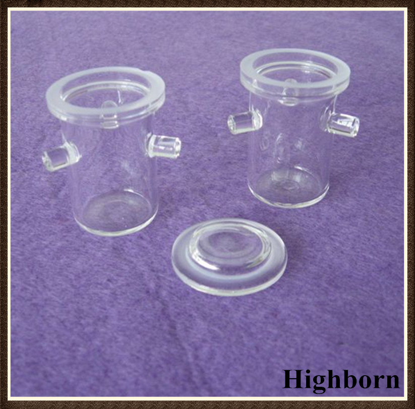 Transparent Customized Quartz Rademacher Crucibles with Handle pictures & photos