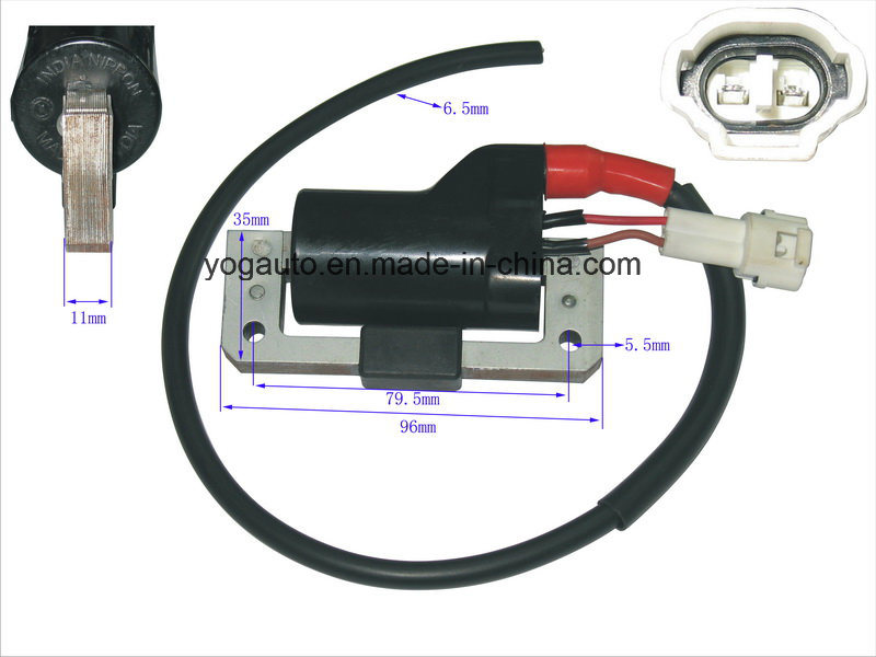 China Yog Motorcycle Parts Motorcycle Ignition Coil for Bajaj Three ...