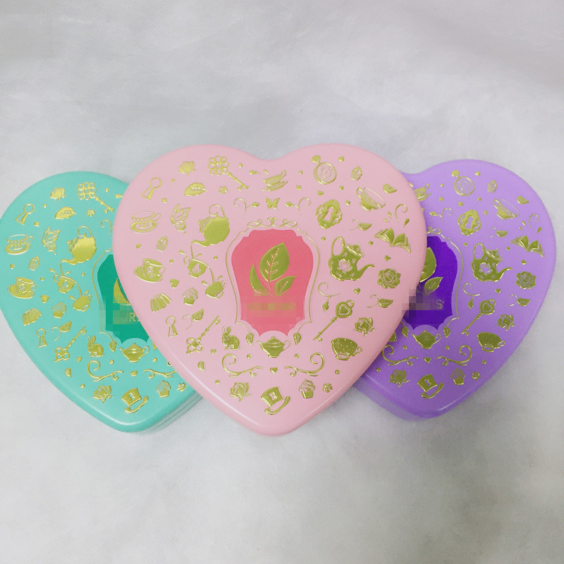 Wedding Promotion Heart Shaped Jewellery Gift Tin Box pictures & photos