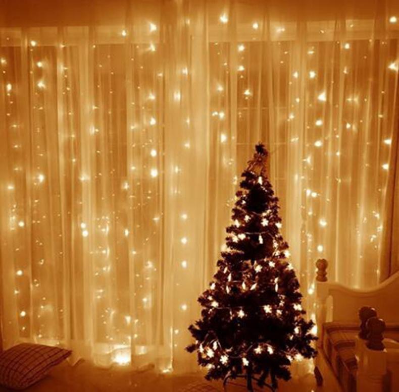 Christmas Lights White.Hot Item 100 Led 8 Function String Christmas Light White
