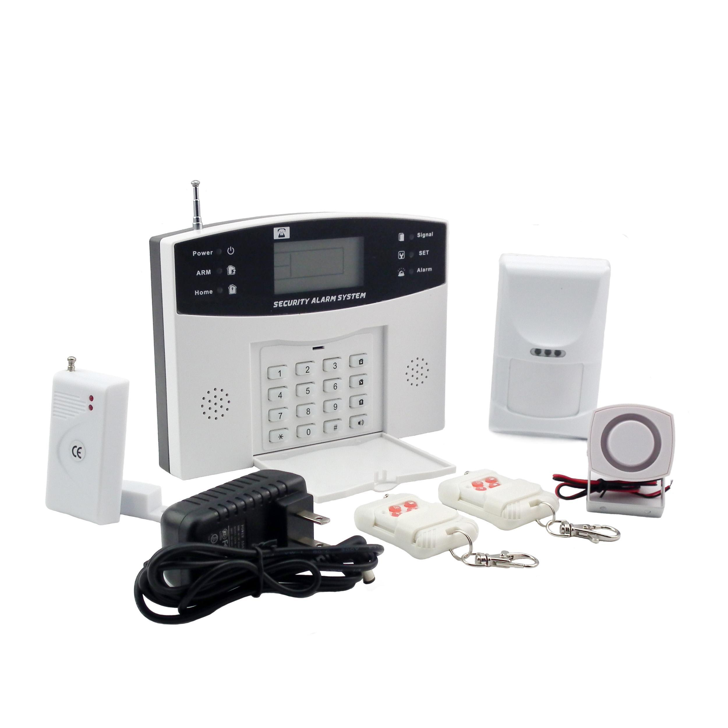 China Security Burglar Alarm Systems with 8 Wired and 99 Wireless ...