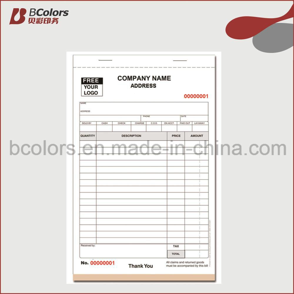 [Hot Item] Custom Restaurant Pocket Purchase-Order Book /Guest Check Books