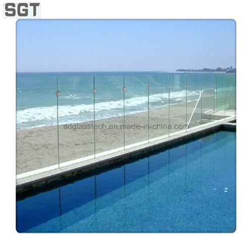Toughened Glass Clear Float Glass 12mm for Fencing