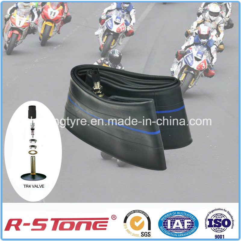 High Quality Natural Motorcycle Inner Tube2.75-17