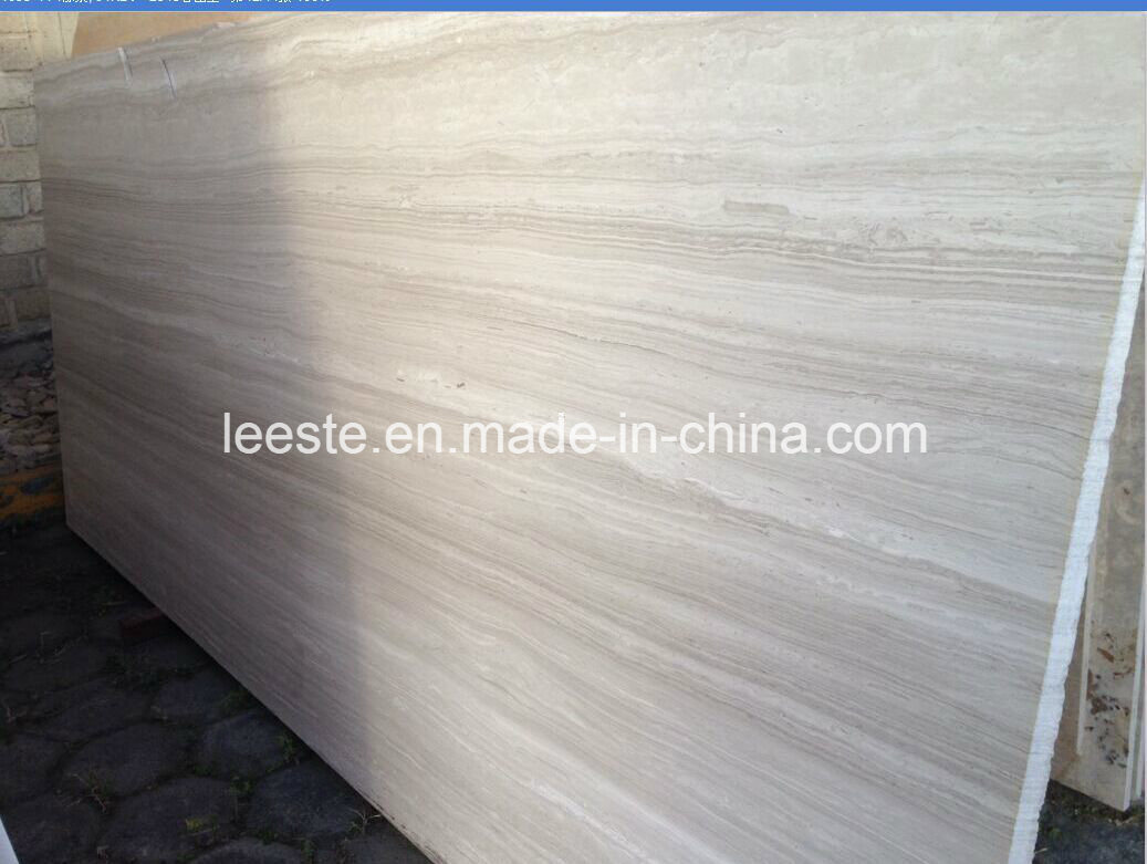 Building Material Timber White Marble, Marble for Project and Decoration pictures & photos