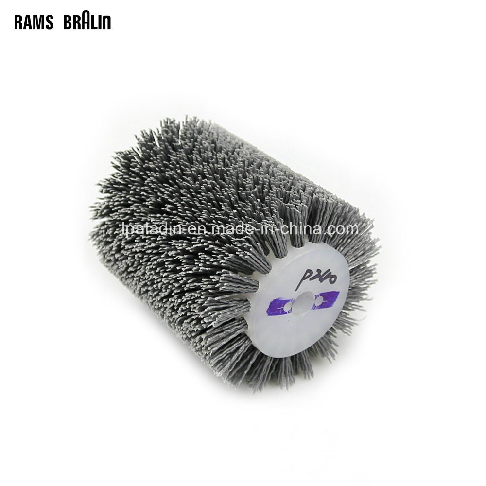 China Abrasive Wire Cylinder Brush Woodworking Polishing Buffing ...
