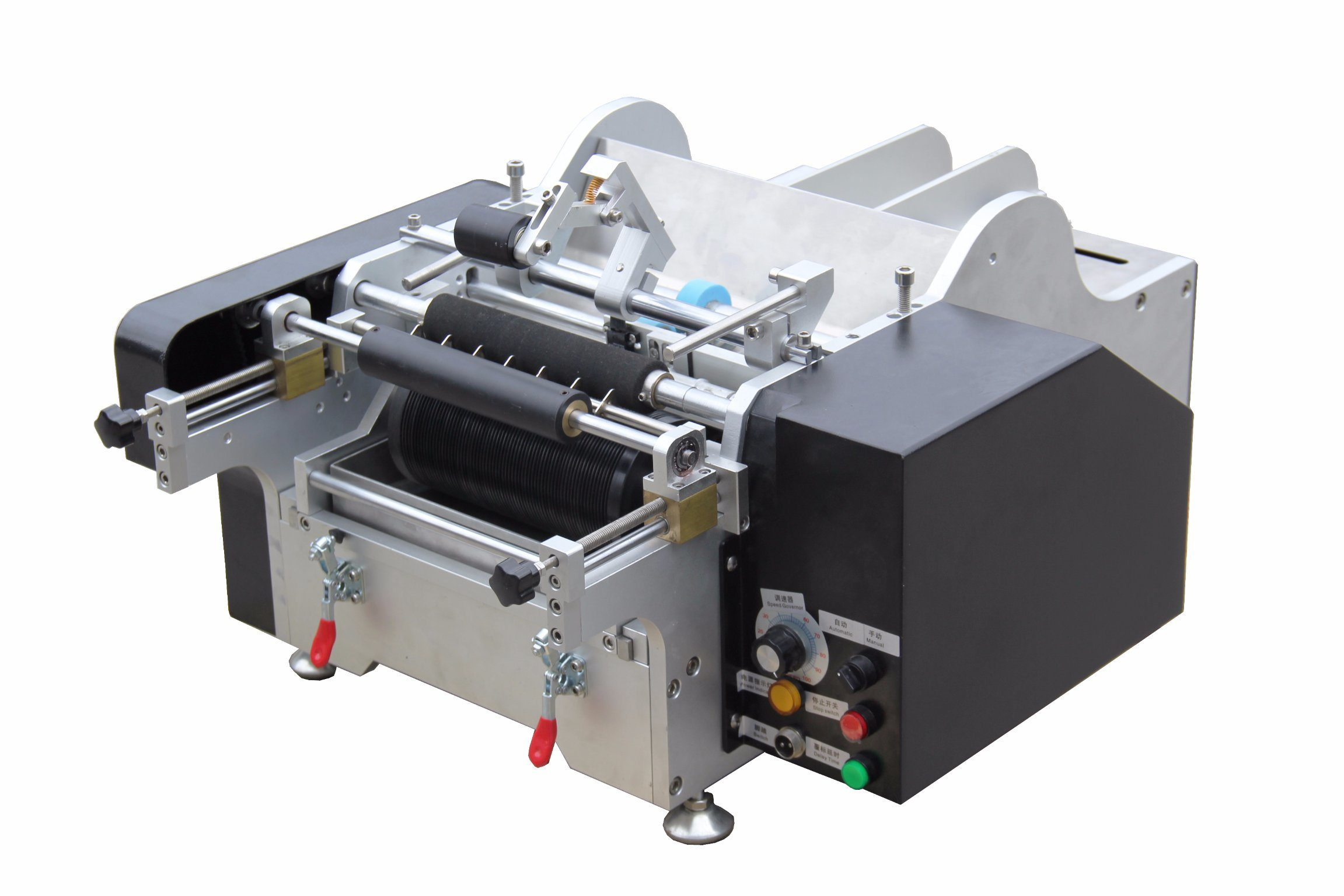 Semi-Automatic Paste/Wet Glue Labeling Machine for Bottle pictures & photos