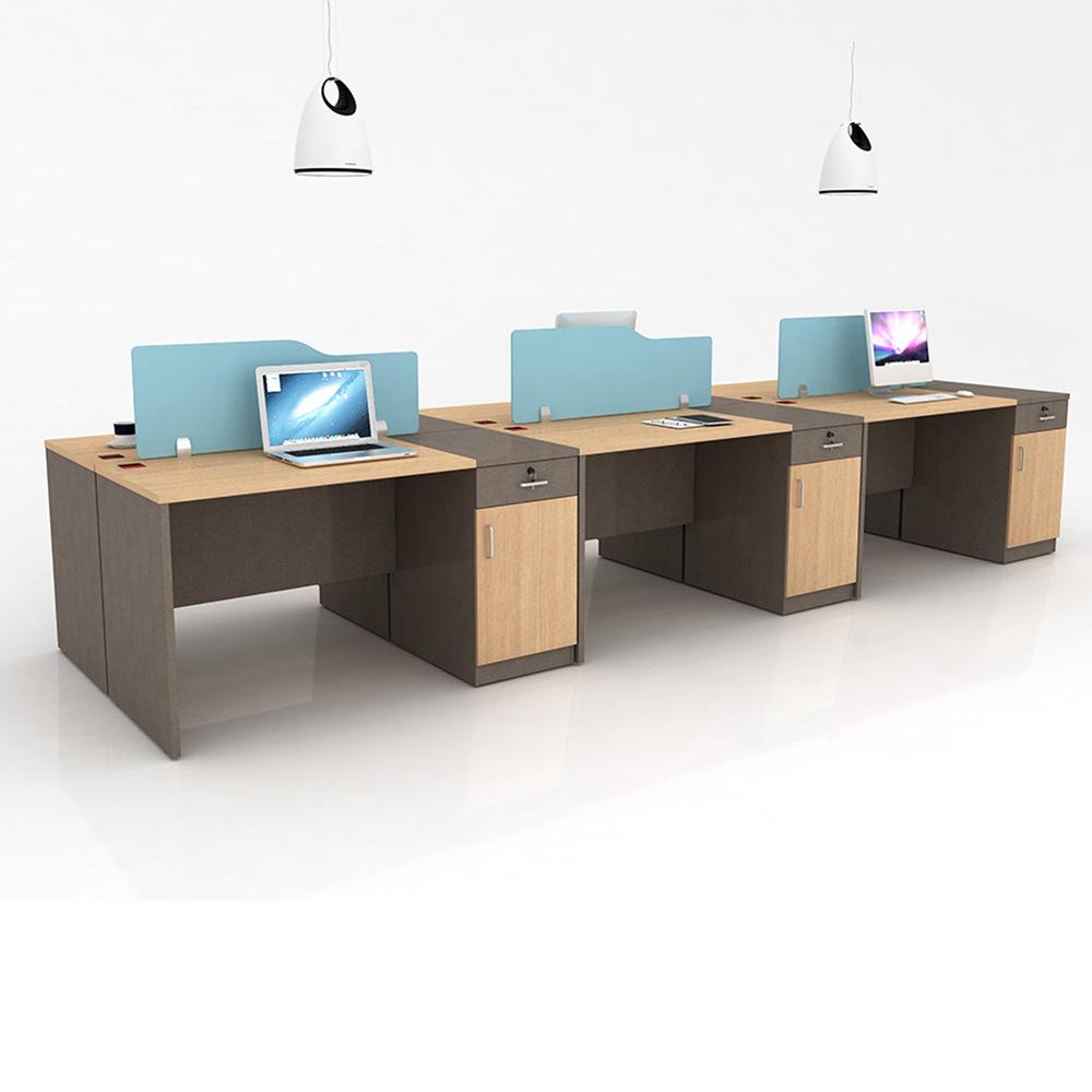 China Modern Design 6 People Workstation Seat Office Desks Desk Table