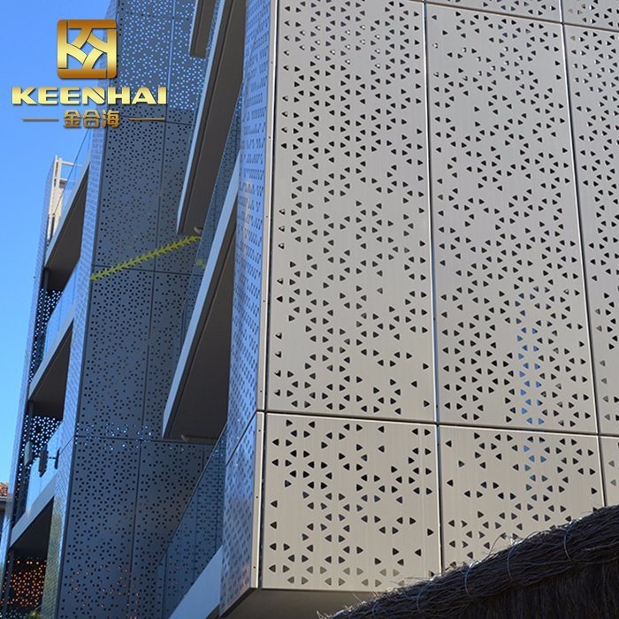 China Perforated Aluminum Sheet Decorative Outside Wall