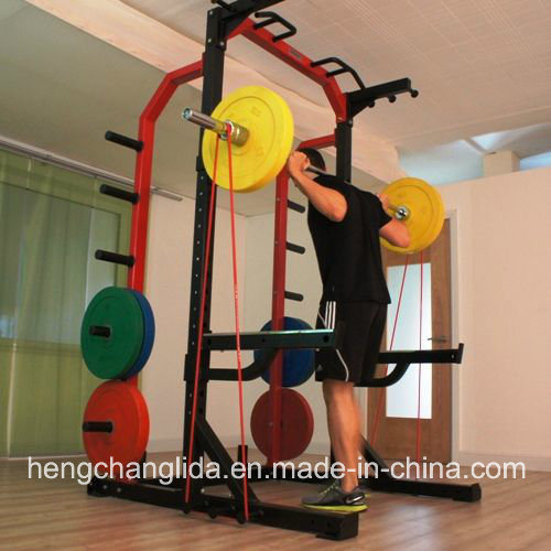 China Professional Gym Training Fitness Half Rack/ Power Rack