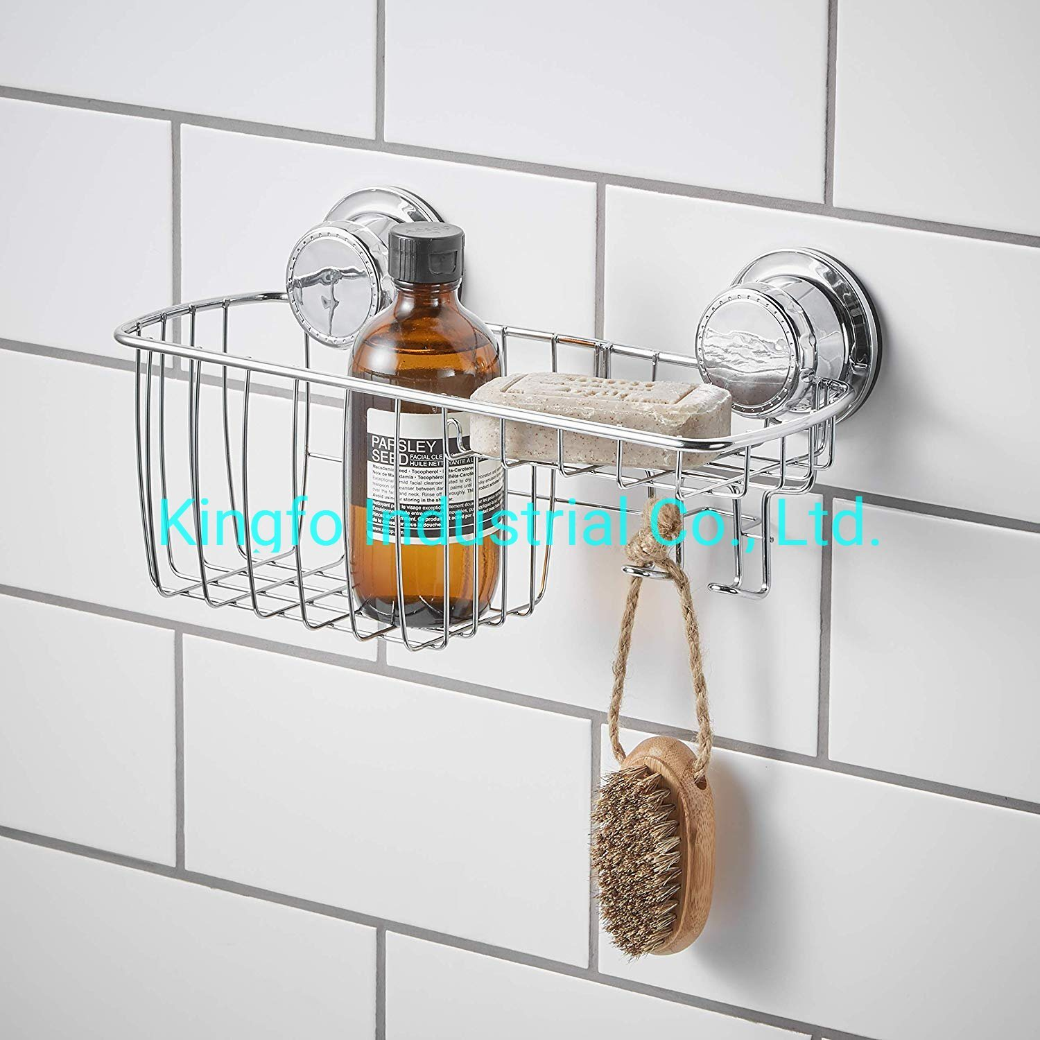 1 Tier Bathroom Suction Cup Shampoo