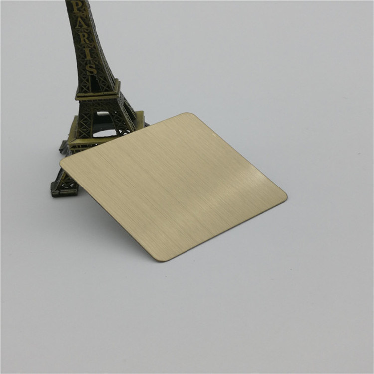 Bronze Hairline Stainless Steel Sheet pictures & photos