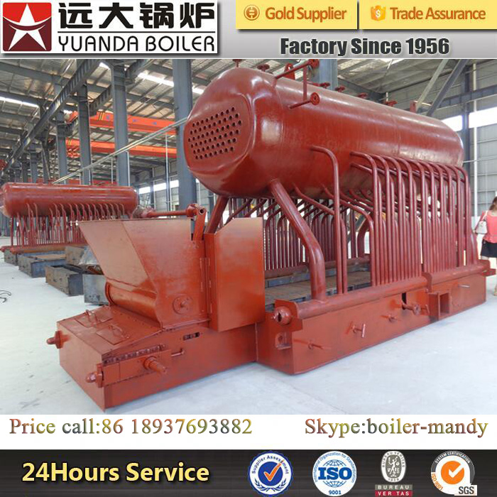Factory Use 4ton 1.25MPa 13kg/M2 Pressure Coal Fired Steam Boiler pictures & photos
