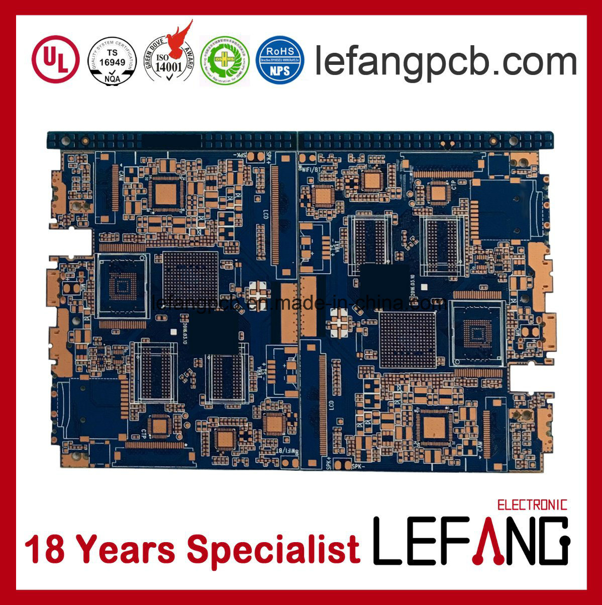 Wholesale Computer Board Buy Reliable From Circuit Module Pcb On Off Dishwasher Printed 4 Layer Industry Control With Blue Ink